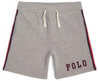Ralph Lauren Kids Side-Stripe Logo Shorts (2-4 Years)