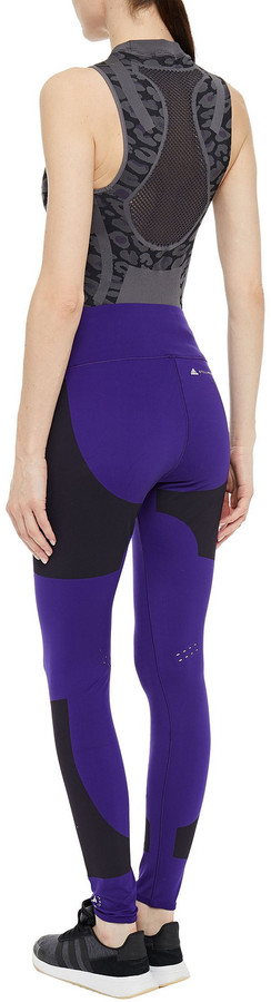 Thumbnail for your product : adidas by Stella McCartney Printed Stretch Leggings