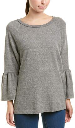 Current/Elliott Ruffle Sleeve Sweatshirt