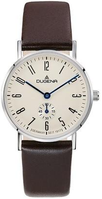 Dugena Women's Analogue Quartz Watch with Leather Strap 4460663