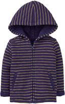 Navy Matte Quilted Jacket - Infant & Toddler
