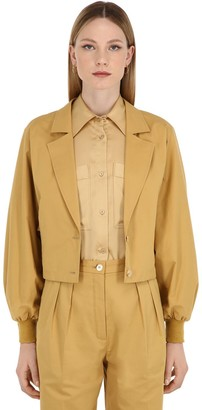 Nina Ricci Cotton Gabardine Jacket