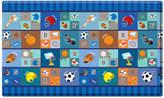 Dwinguler Kid's Playmat in Star Player Indoor/Outdoor Area Rug