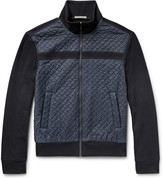 Bottega Veneta Slim-Fit Cotton and Quilted Nylon Jacket