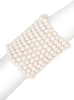 Josie Natori Bone Small Beaded Bracelet