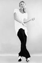 LnA Relaxed Column Skirt in Black