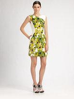 Jason Wu Printed Silk Faille Dress