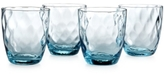 The Cellar Closeout! Optic Color Collection 4-Pc. Double Old-Fashioned Glasses