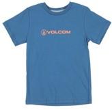 Volcom Boy's Lino Euro T-Shirt