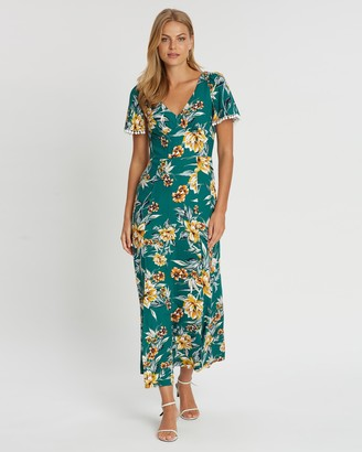 French Connection Print Maxi Dress
