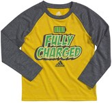 """adidas Boys 4-7x Fully Charged"""" climalite Tee"""
