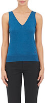 Lanvin WOMEN'S CASHMERE-BLEND SLEEVELESS V-NECK TOP