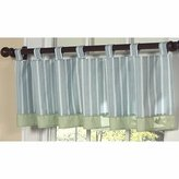 JoJo Designs Window Valance for Blue and Green Argyle Bedding Sets by Sweet