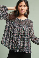 Velvet by Graham & Spencer Jewel Chiffon Blouse