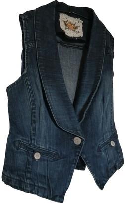 Whistles Blue Denim - Jeans Top for Women