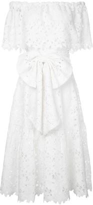 Bambah Lace Off Shoulder Dress