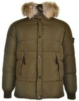 Stone Island Junior Boys Hooded Parka Coat