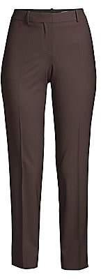 BOSS Women's Tiluna Stretch-Wool Pants
