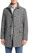 Billy Reid Men's 'Astor' Three-Button Tweed Overcoat