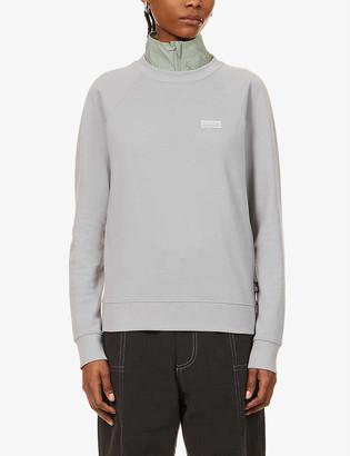 Patagonia Pastel P-6 branded-patch organic cotton sweatshirt