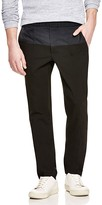 Vince Mixed Media City Slim Fit Trousers