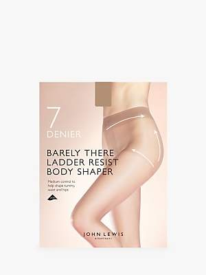 6bb92da17fc John Lewis   Partners 7 Denier Barely There Ladder Resist Body Shaper Tights