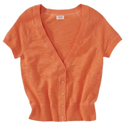 Mossimo Juniors Short Sleeve Cardigan - Assorted Colors