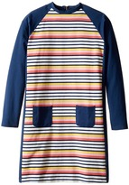 Toobydoo Rainbow Shift Dress (Toddler/Little Kids/Big Kids)