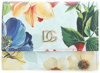 Dolce & Gabbana Floral Printed Wallet