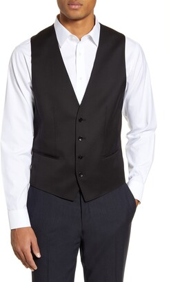HUGO BOSS Huge/Weste Solid Wool Vest