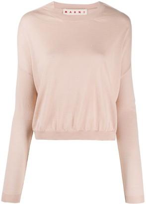 Marni Drop-Shoulder Sweater