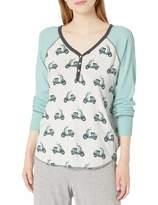 PJ Salvage Women's Wild Ride Henley Shirt