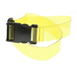 Dries Van Noten Yellow Polyester Belts