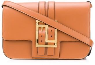 Versace Belt Buckle Strap Shoulder Bag