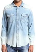 Mavi Jeans Andy Used Random Vintage Denim Button-Down Shirt