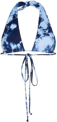 Frankie's Bikinis Frankies Bikinis x Sofa Richie Jordan tie-dyed bikini top