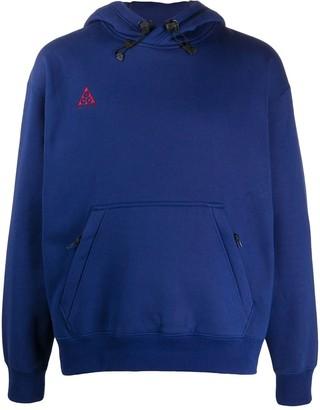 Nike Logo-Embroidered Hooded Sweatshirt
