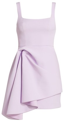 Acler Clarke Scoopneck Knotted Drape Dress
