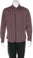 Just Cavalli Geometric Print Woven Shirt