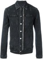 RtA distressed denim jacket - men - Cotton/Polyurethane - S