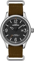 Timex Men's Expedition T49935 Cloth Analog Quartz Watch with Black Dial