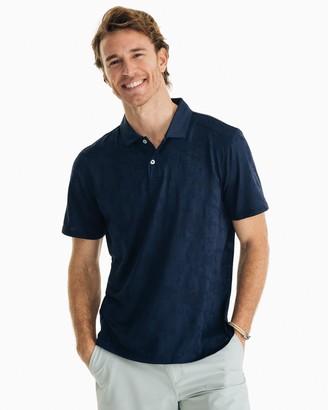 Southern Tide Deep Blue Sea Performance Polo Shirt