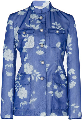 Huishan Zhang Brigette Floral Chantilly Jacket