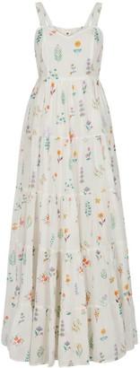 Em & Shi Summer Herbs Tiered Dress