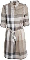 Burberry Check Shirt Dress