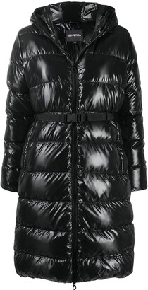 Duvetica Belted Padded Coat