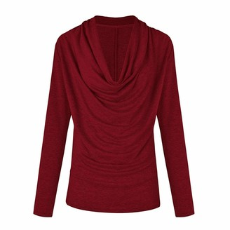 Musheng Loose Long Sleeve Tops Loose Long Sleeve Tops for Women