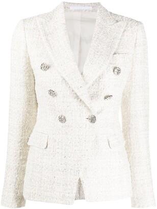 Tagliatore Double-Breasted Tweed Blazer