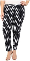 MICHAEL Michael Kors Size Roxy Print Miranda Pants