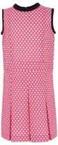 Marni Pink & White Geo Patterned Dress